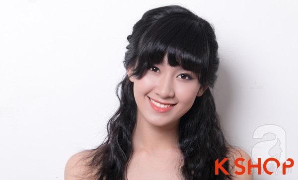 3 Kiểu tóc dài ngang vai Hàn Quốc đẹp cho bạn gái dịu dàng 2016 phần 7