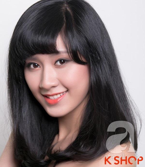 3 Kiểu tóc dài ngang vai Hàn Quốc đẹp cho bạn gái dịu dàng 2016 phần 9