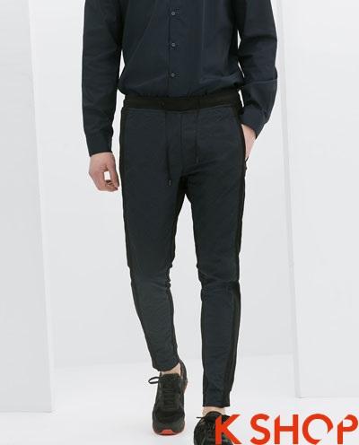 Quần sweatpants nam ống bó đẹp xu hướng thời trang 2017 phần 3