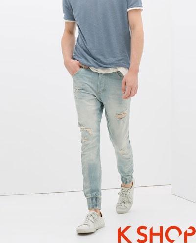 Quần sweatpants nam ống bó đẹp xu hướng thời trang 2017 phần 4