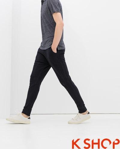 Quần sweatpants nam ống bó đẹp xu hướng thời trang 2017 phần 5