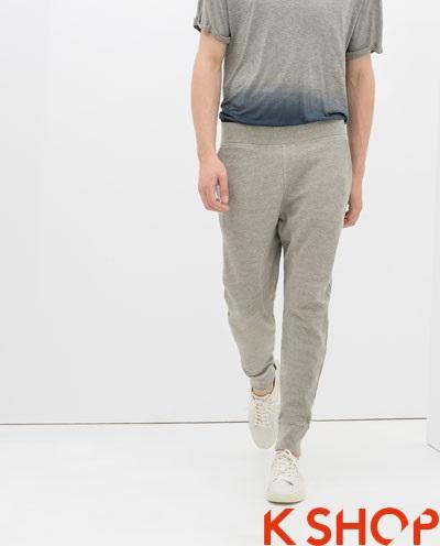 Quần sweatpants nam ống bó đẹp xu hướng thời trang 2017 phần 7
