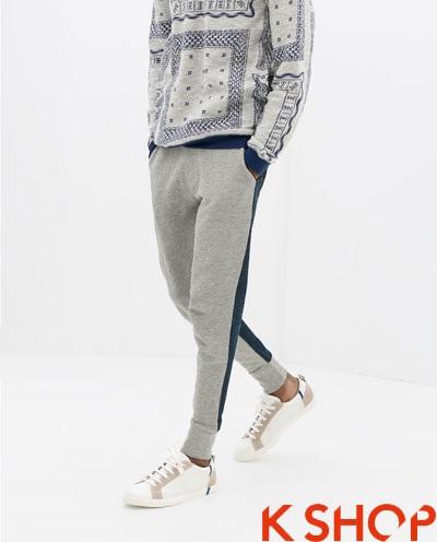 Quần sweatpants nam ống bó đẹp xu hướng thời trang 2017 phần 8