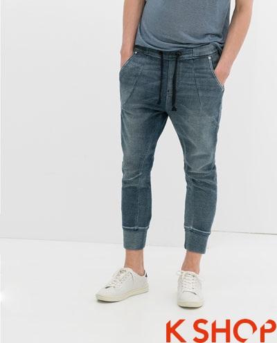 Quần sweatpants nam ống bó đẹp xu hướng thời trang 2017 phần 9