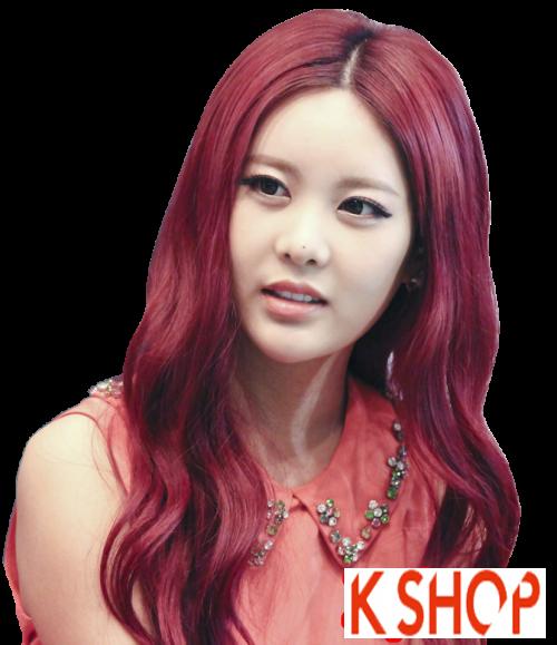 Xu hướng tóc xoăn sóng nước đẹp của giới trẻ Hàn Quốc hè 2017 phần 6