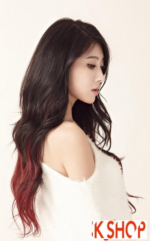 Xu hướng tóc xoăn sóng nước đẹp của giới trẻ Hàn Quốc hè 2017 phần 7