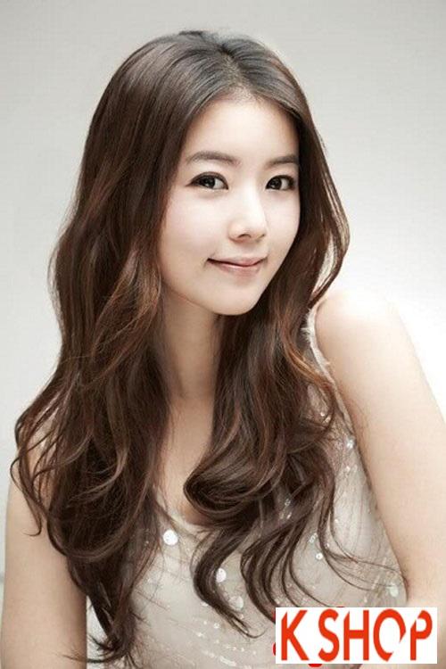 Xu hướng tóc xoăn sóng nước đẹp của giới trẻ Hàn Quốc hè 2017 phần 9