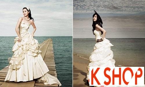 5+ Kiểu tóc cô dâu Hàn Quốc đẹp cho nàng nổi bật duyên dáng 2016 phần 1