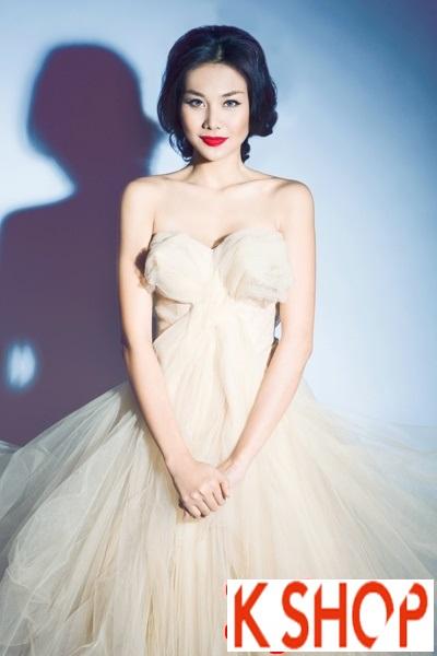 5+ Kiểu tóc cô dâu Hàn Quốc đẹp cho nàng nổi bật duyên dáng 2016 phần 11