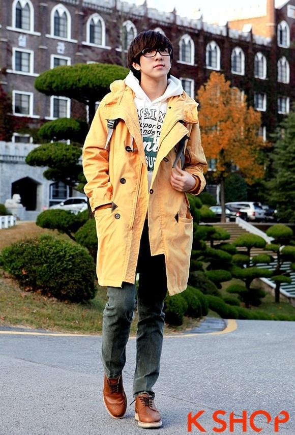 Áo khoác nam phao lông có mũ kiểu Hàn Quốc đẹp ấm áp đông 2016 - 2017 lạnh giá phần 11