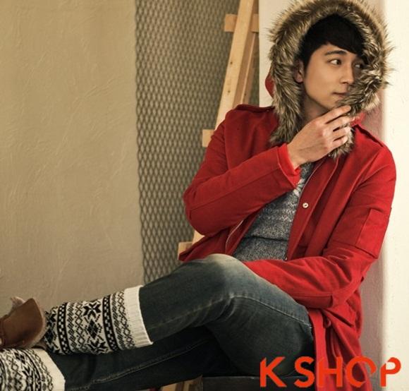 Áo khoác nam phao lông có mũ kiểu Hàn Quốc đẹp ấm áp đông 2016 - 2017 lạnh giá phần 12