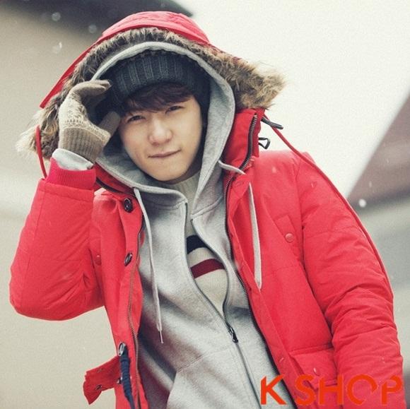 Áo khoác nam phao lông có mũ kiểu Hàn Quốc đẹp ấm áp đông 2016 - 2017 lạnh giá phần 5