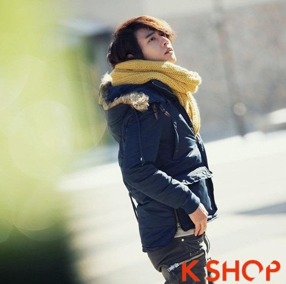 Áo khoác nam phao lông có mũ kiểu Hàn Quốc đẹp ấm áp đông 2016 - 2017 lạnh giá phần 7
