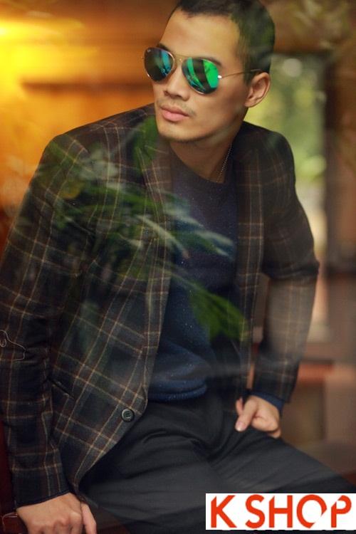 Mẫu áo khoác nam đẹp thu đông 2017 ấm áp không lạnh cho chàng phần 9