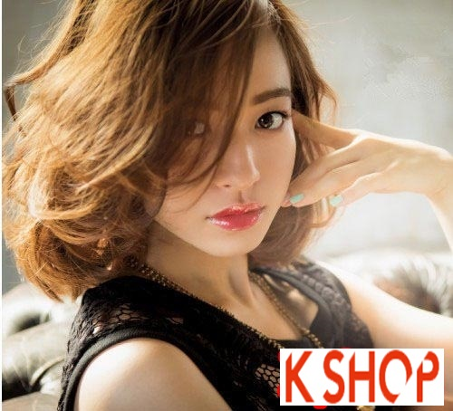 Tóc ngang vai Hàn Quốc đẹp 2017 cho bạn gái trẻ trung quyến rũ phần 16