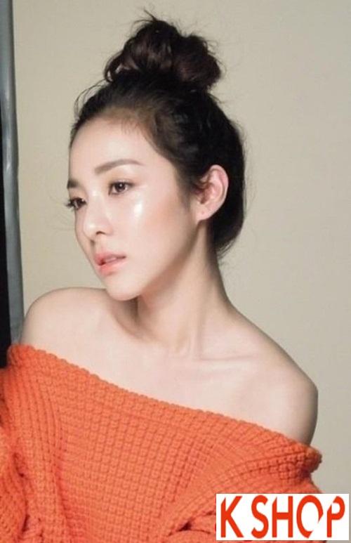 Tóc búi đẹp Hàn Quốc hè 2016 dễ thương cho cô nàng nên làm theo phần 1