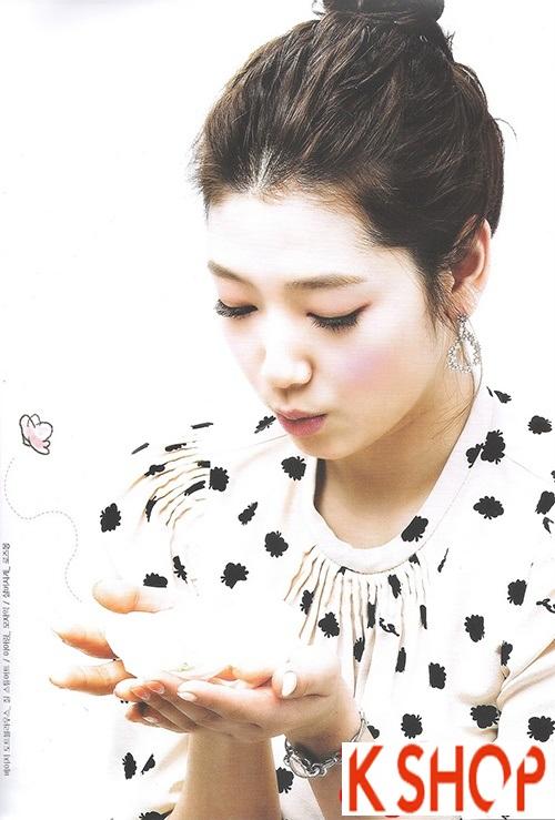 Tóc búi đẹp Hàn Quốc hè 2016 dễ thương cho cô nàng nên làm theo phần 3