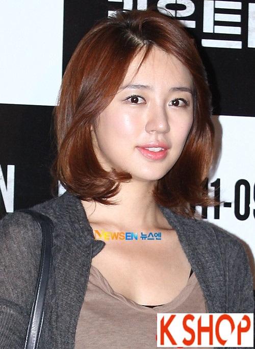 Tóc ngắn hàn quốc đẹp 2016 của Yoon Eun Hye xinh xắn trẻ trung phần 6