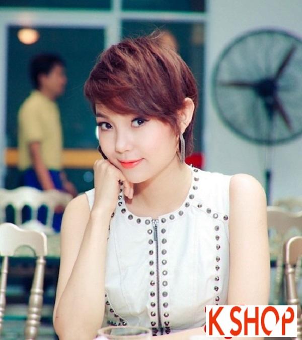 Ngắm kiểu tóc ngắn ngang vai đẹp của sao Việt nổi bật nhất 2017 phần 3