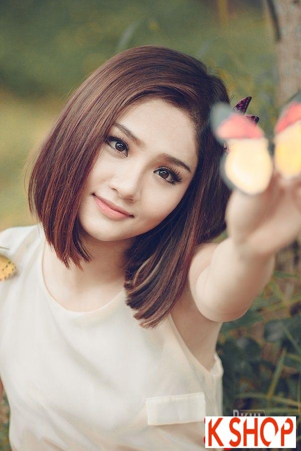 Ngắm kiểu tóc ngắn ngang vai đẹp của sao Việt nổi bật nhất 2017 phần 6