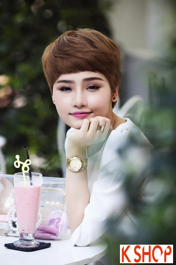 Ngắm kiểu tóc ngắn ngang vai đẹp của sao Việt nổi bật nhất 2017 phần 7