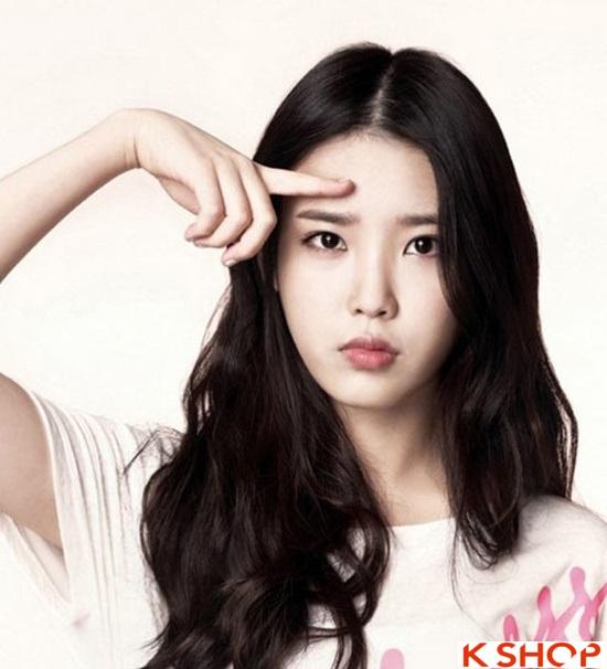 Top 5 kiểu tóc dài uốn xoăn lọn nhỏ bồng bềnh Hàn Quốc đẹp nhất hè 2017 phần 2