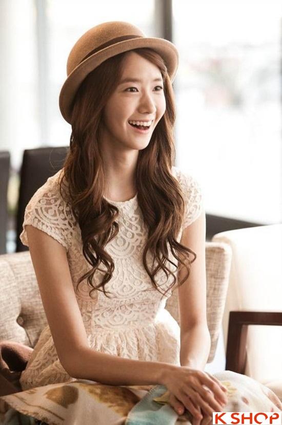 Top 5 kiểu tóc dài uốn xoăn lọn nhỏ bồng bềnh Hàn Quốc đẹp nhất hè 2017 phần 8