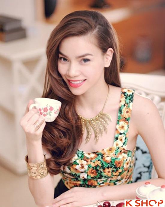 6 Kiểu tóc đẹp 2016 của ca sĩ Hồ Ngọc Hà đơn giản quý phái phần 11