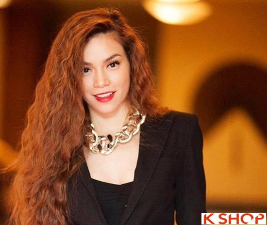 6 Kiểu tóc đẹp 2016 của ca sĩ Hồ Ngọc Hà đơn giản quý phái phần 12
