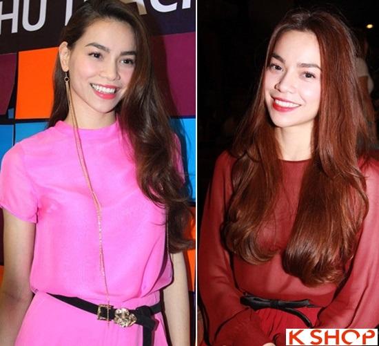 6 Kiểu tóc đẹp 2016 của ca sĩ Hồ Ngọc Hà đơn giản quý phái phần 6