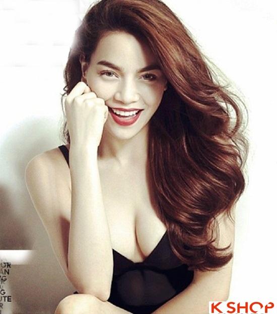 6 Kiểu tóc đẹp 2016 của ca sĩ Hồ Ngọc Hà đơn giản quý phái phần 8
