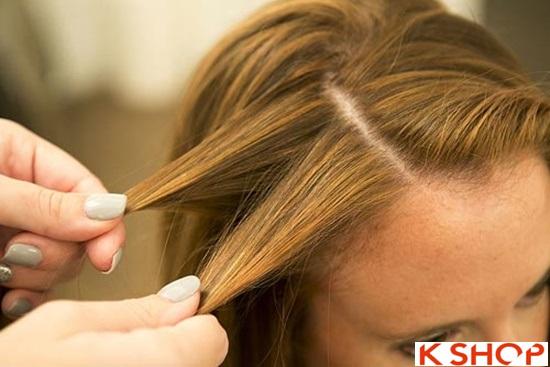 Cách tết tóc mái kiểu Hàn Quốc đẹp dịu dàng năng động năm 2016 phần 13