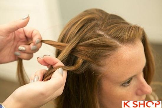 Cách tết tóc mái kiểu Hàn Quốc đẹp dịu dàng năng động năm 2016 phần 14