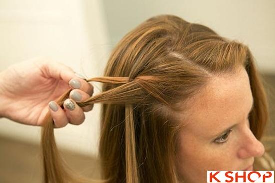 Cách tết tóc mái kiểu Hàn Quốc đẹp dịu dàng năng động năm 2016 phần 15
