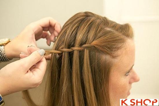 Cách tết tóc mái kiểu Hàn Quốc đẹp dịu dàng năng động năm 2016 phần 18