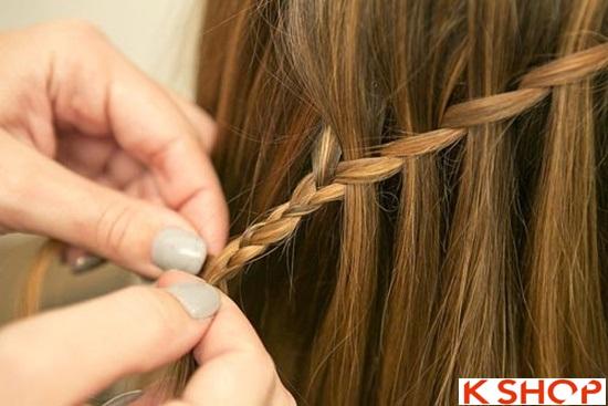 Cách tết tóc mái kiểu Hàn Quốc đẹp dịu dàng năng động năm 2016 phần 19