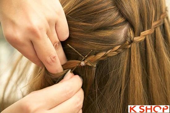 Cách tết tóc mái kiểu Hàn Quốc đẹp dịu dàng năng động năm 2016 phần 20