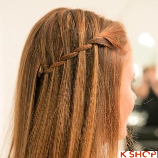 Cách tết tóc mái kiểu Hàn Quốc đẹp dịu dàng năng động năm 2016 phần 21