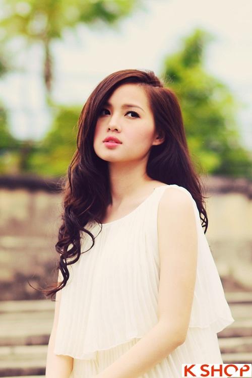 Tổng hợp kiểu tóc đẹp xinh xắn gây sốt 2017 được các Hot Girl Việt lăng xê phần 1