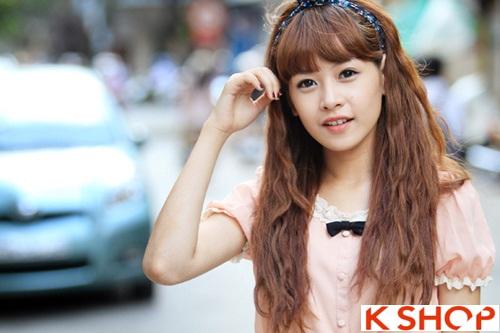 Tổng hợp kiểu tóc đẹp xinh xắn gây sốt 2017 được các Hot Girl Việt lăng xê phần 7
