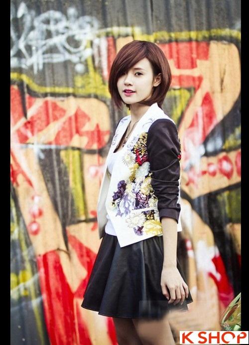 Tổng hợp kiểu tóc đẹp xinh xắn gây sốt 2017 được các Hot Girl Việt lăng xê phần 8