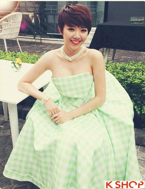 Tổng hợp kiểu tóc đẹp xinh xắn gây sốt 2017 được các Hot Girl Việt lăng xê phần 9