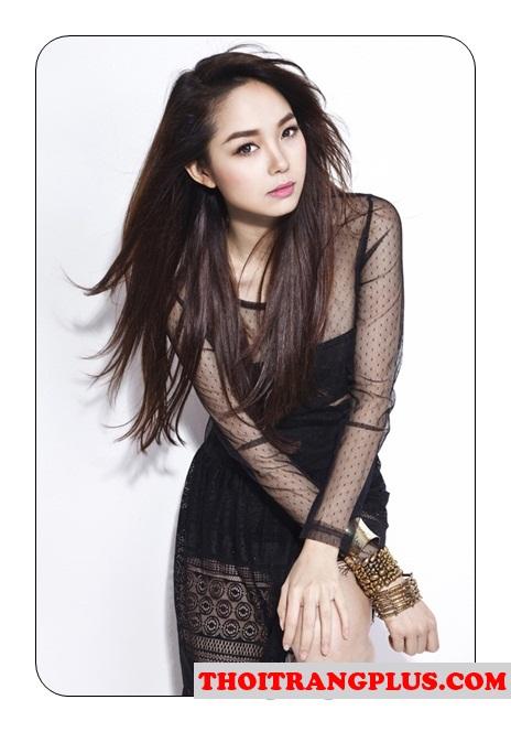 Những kiểu tóc đẹp ấn tượng nổi bật của ca sĩ Minh Hằng 2017 phần 6