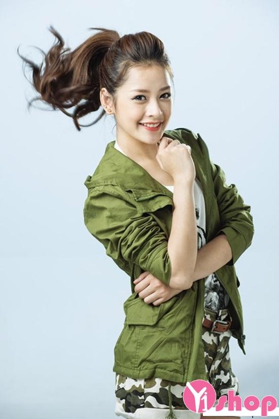 tóc đẹp gây ấn tượng đến người hâm mộ của Hot Girl Chi Pu phần 10