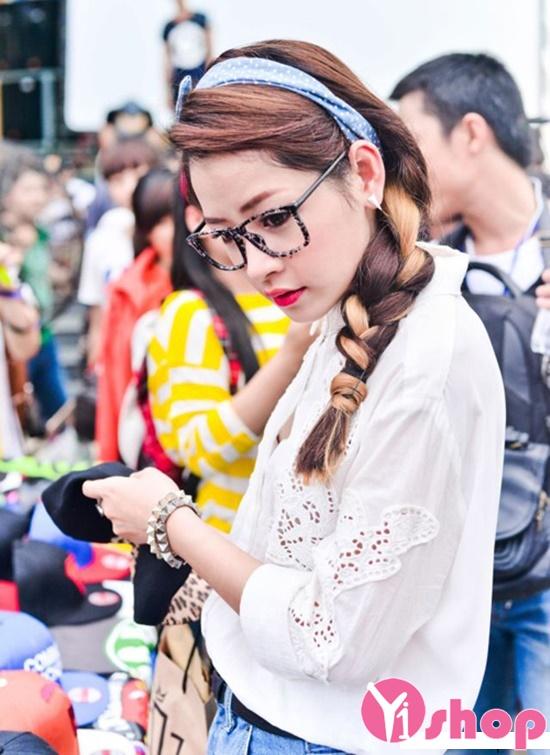 tóc đẹp gây ấn tượng đến người hâm mộ của Hot Girl Chi Pu phần 27