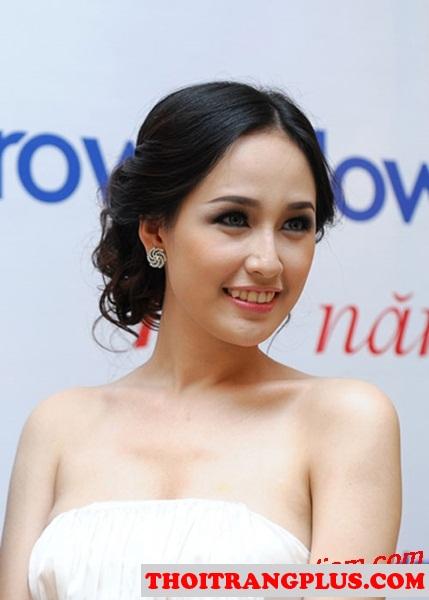 Top 4 kiểu tóc đẹp được các Hoa Hậu Việt sử dụng nhiều nhất 2017 phần 4