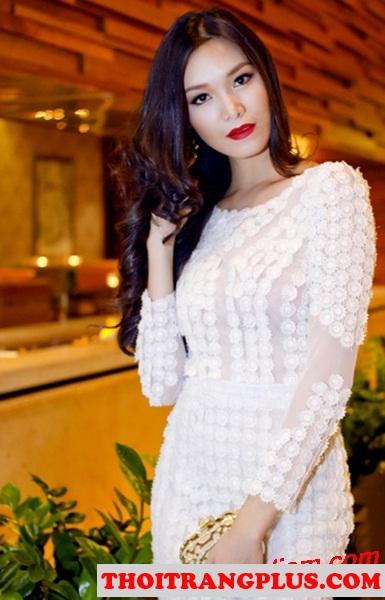 Top 4 kiểu tóc đẹp được các Hoa Hậu Việt sử dụng nhiều nhất 2017 phần 5