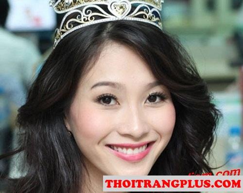 Top 4 kiểu tóc đẹp được các Hoa Hậu Việt sử dụng nhiều nhất 2017 phần 8