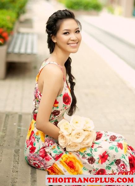 Top 4 kiểu tóc đẹp được các Hoa Hậu Việt sử dụng nhiều nhất 2017 phần 9