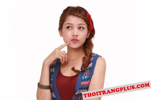 Top 4 kiểu tóc đẹp của Hot Girl Chi Pu lôi cuốn mọi ánh nhìn năm 2017 phần 10